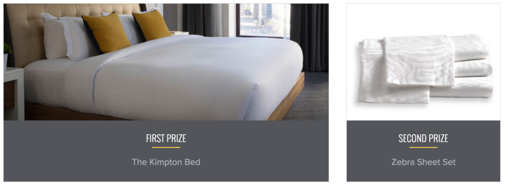 kimpton sweepstakes